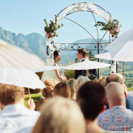 Breathtaking ceremony locations in Franschhoek